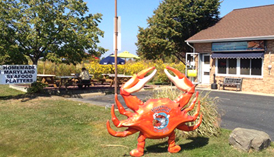 Stevensville Crab Shack Outside